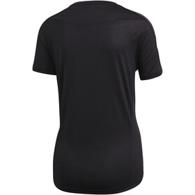 adidas OWN the Run SS T-Shirt Women, czarny/biały